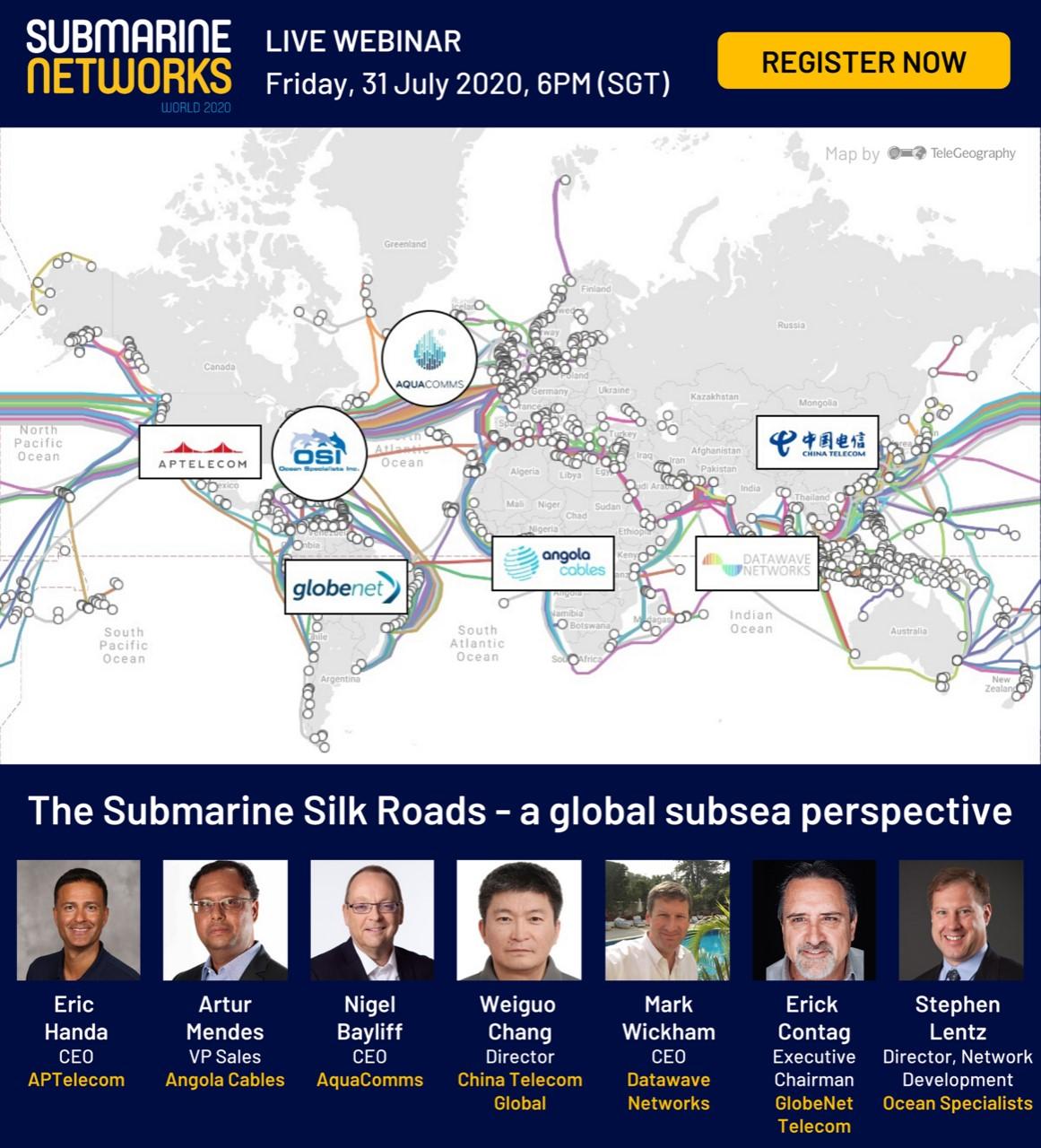 Webinar The Submarine Silk Roads